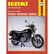 MOTORBOEK HAYNES 484 SUZ GS1000 FOUR 77-79 BF5246