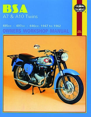 Motorboek Haynes BSA A7 and A10 Twins