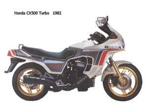 HONDA CX500TC(PC03)1982