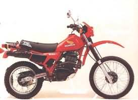 HONDA XL500R(PD02)