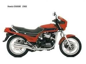 HONDA CX650E(RC12)1983