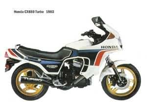 HONDA CX650T (RC16)83-85