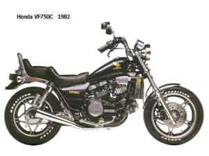HONDA VF750C(RC09)