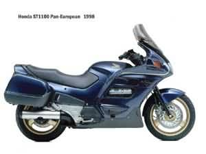 HONDA ST1100 SPECIFICATIES