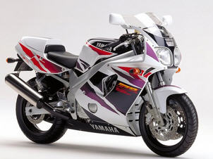 YAMAHA FZR600R(4JH/4MH)94-96 SPECIFICATIES