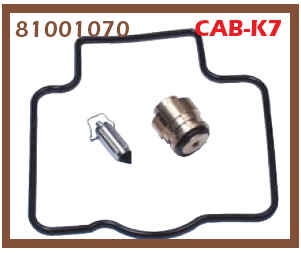 CARBURATEUR REP.SET CAB-K7