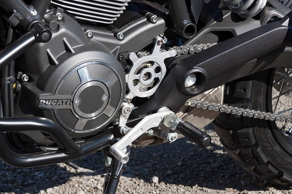 LSL Brake / Shift pedal DUCATI Scrambler