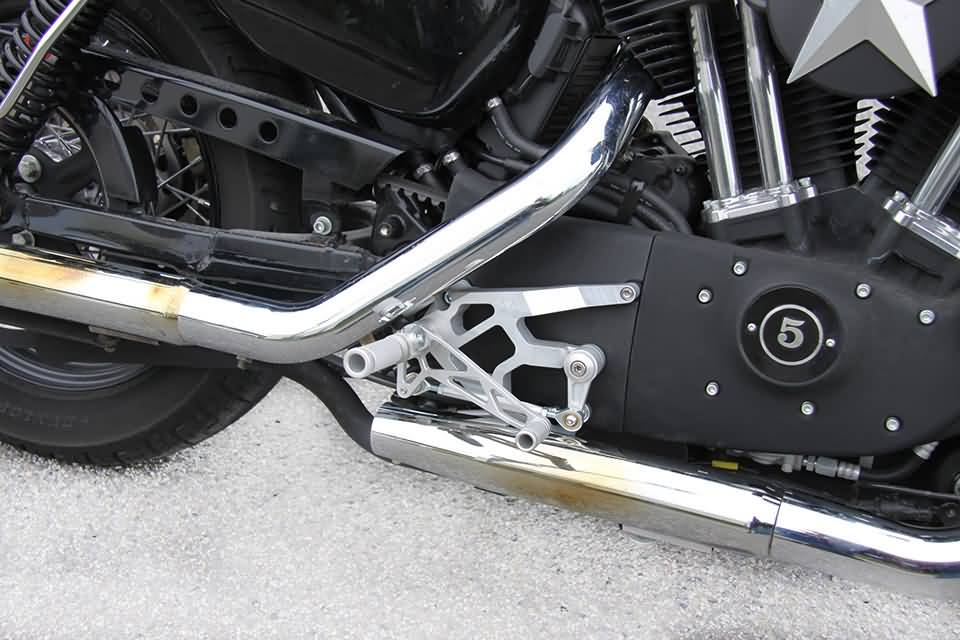 LSL Rearset Sportster 04- without ABS