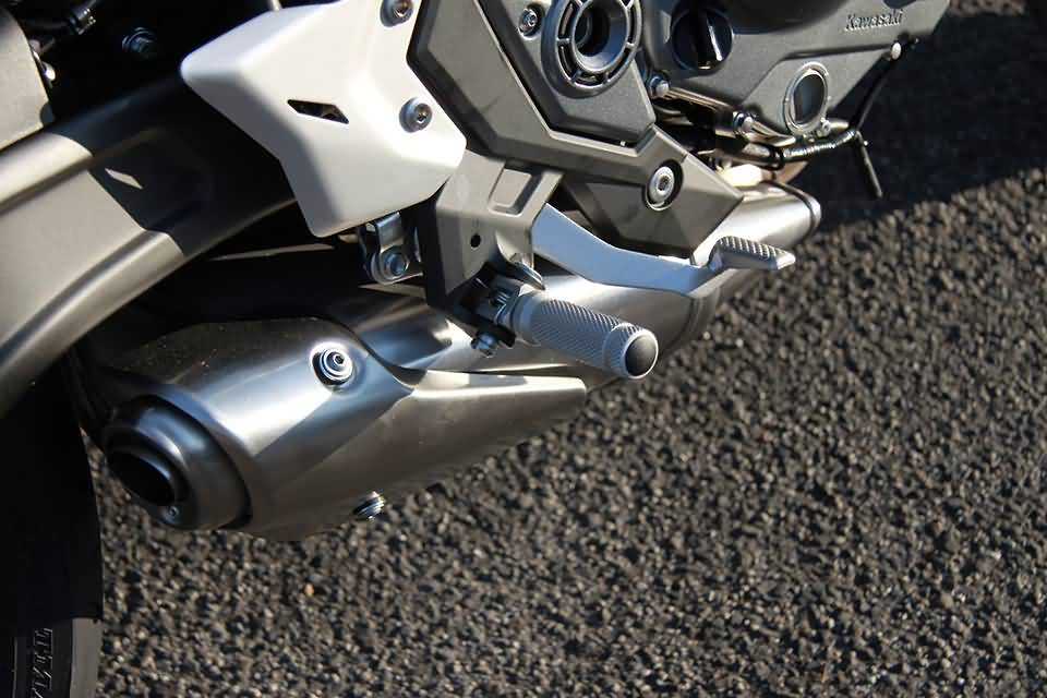 LSL Footpeg bracket Kit KAWASAKI, front