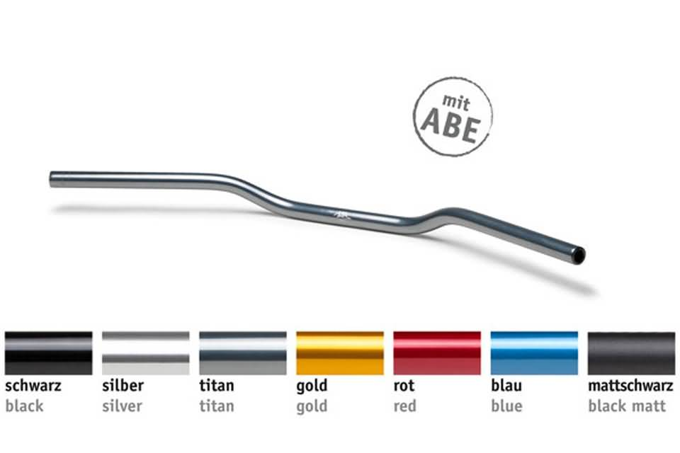 ALU-HANDLEBAR AN1, RED