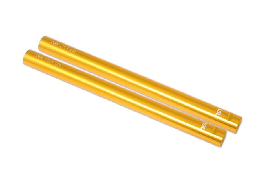 Sport Match clip on pair, gold