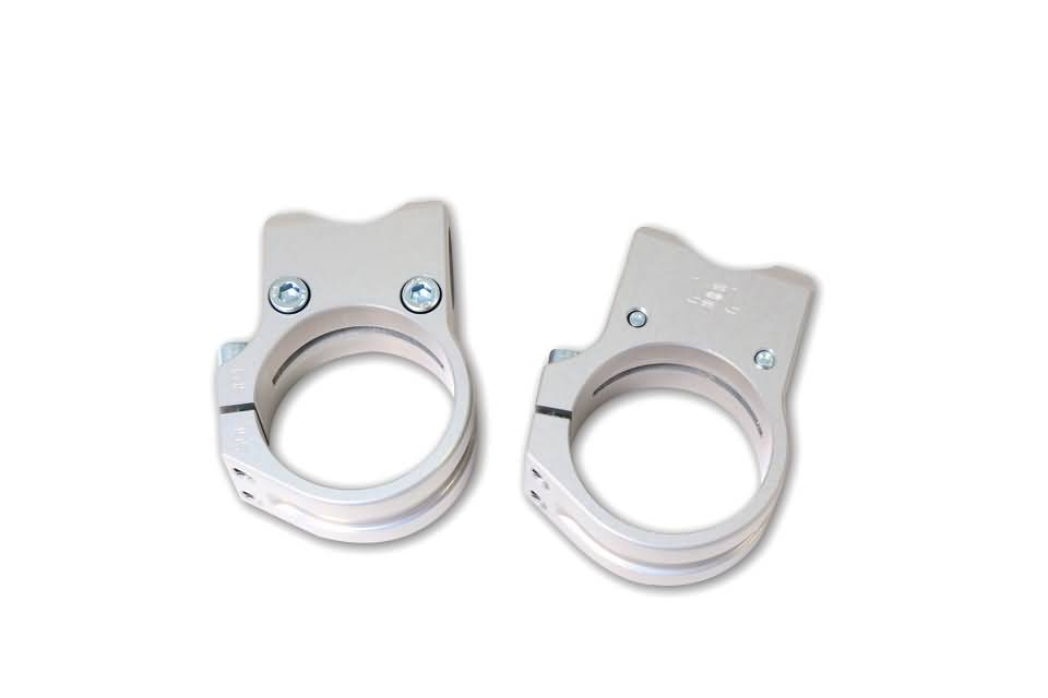 LSL SPORT-MATCH HANDLEBAR CLAMPS SILVER, 41MM