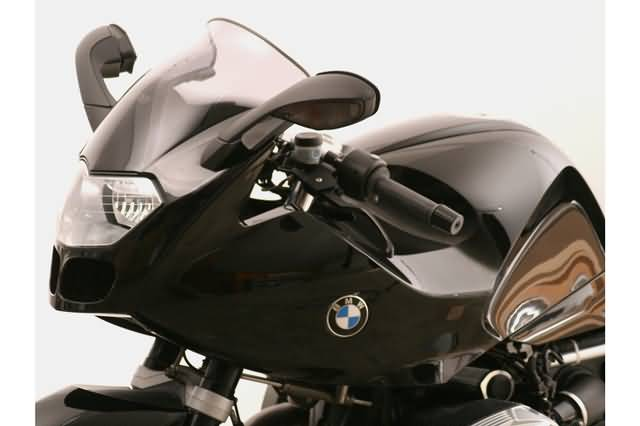 MRA SPOILER RUIT S BMW R 1200 S FROM MODEL BJ 2006, SMOKE