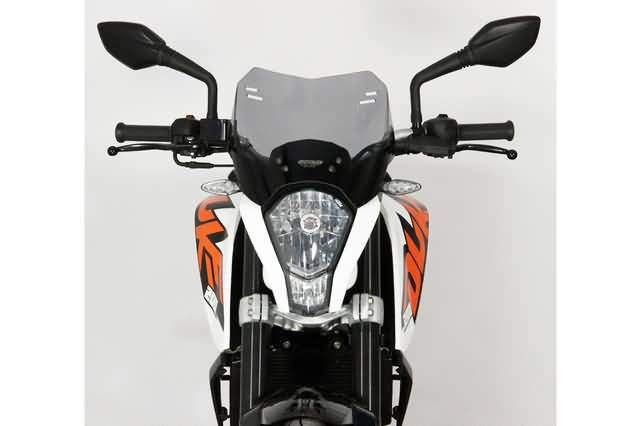 MRA SPOILER RUIT S KTM DUKE 125 / 200 /390 ALL, SMOKE