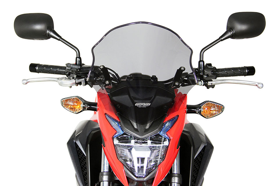 MRA SPOILER DISC, CB500 F, 16-, SMOKE GRAY