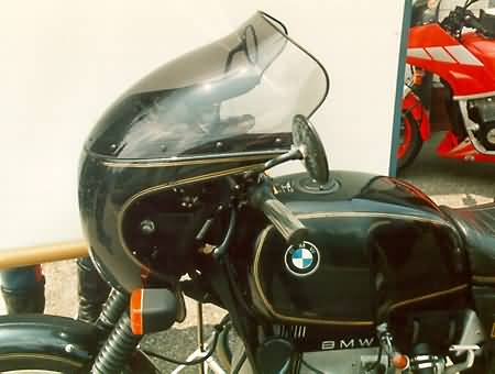 MRA TOURING RUIT BMW R90S, COCKPIT, SMOKE