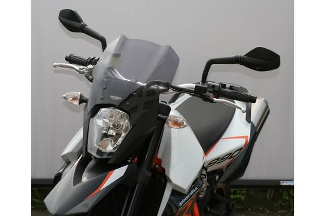 MRA TOURING RUIT T, KTM 990 SUPERMOTO SM / SMR FROM 2008-, ZWART