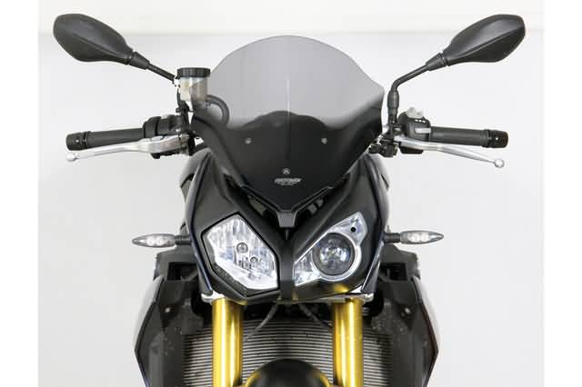 MRA TOURING RUIT BMW S 1000 R, 2014-, SMOKE, HOMOLOGATED.