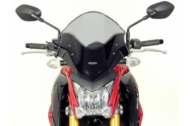 MRA TOURING RUIT NTM, SUZUKI GSX-S 1000 FROM 2014-, SMOKE