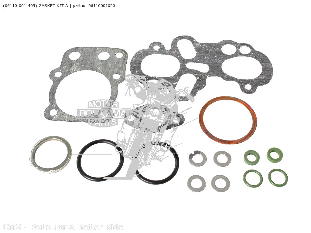 PAKKINGSET TOP HONDA 06110-001-020 KIT A