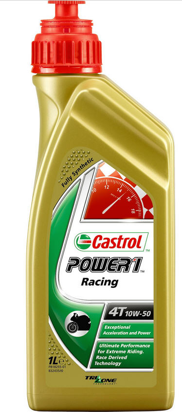 CASTROL POWER SYNTHETIC RACING 4T 10W50 1 LITER