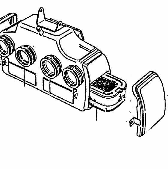 Air Filter Suzuki Gs7508501000 13781 45010 13781 4501073940090