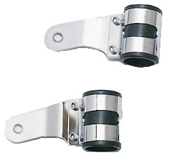 Koplamp Steunen set Alu-Chrome Uni 38-42mm