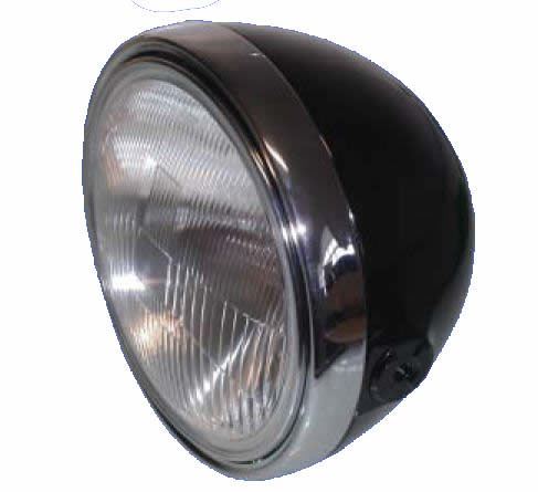 Koplamp model Triumph 8""