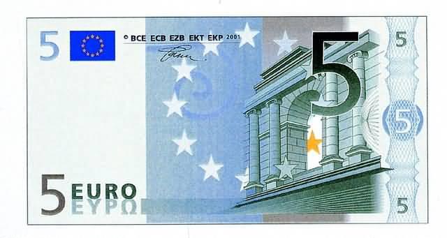 Add Order 5 EURO Larger Image