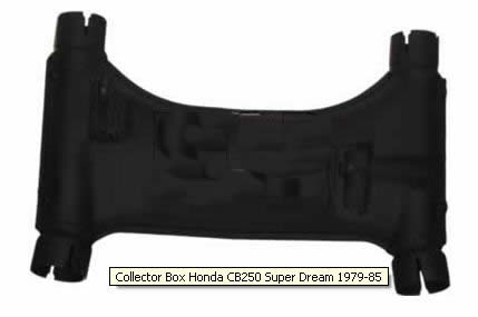 Uitlaat Collector Honda CB250/400N/T