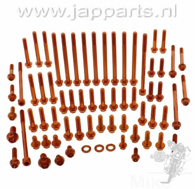 PRO BOLT MOTOR SET KTM SUPER DUKE 1290 ALU ORANJE