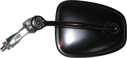 HANDLEBAR END MIRROR BLACK