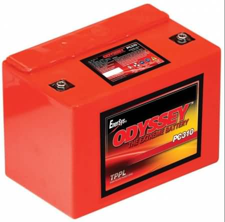ODYSSEY PC310 12v 7Ah AGM Pure Lead Motorcycle Battery