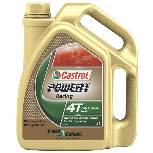 CASTROL POWER RS RACING 4T 5W-40 4 LITER