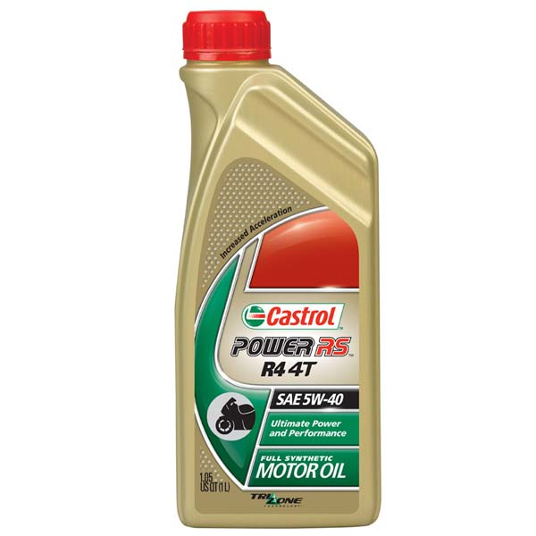 CASTROL POWER RS RACING 4T 5W-40 1 LITER