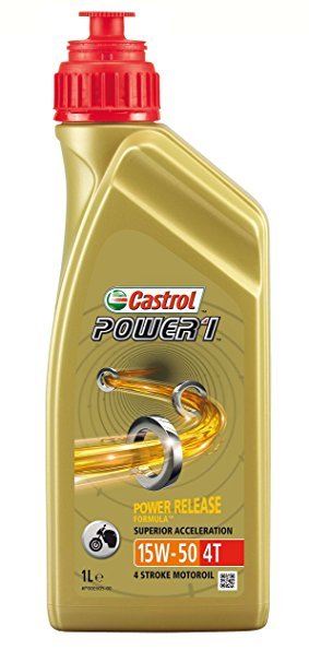 CASTROL POWER RS 4T 15W50 1 LITER