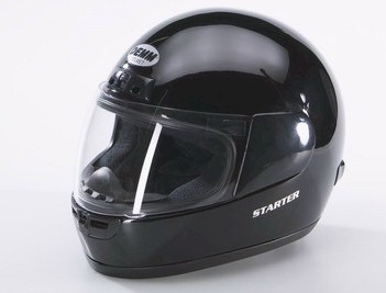 DEMM Full Face Helmet Black